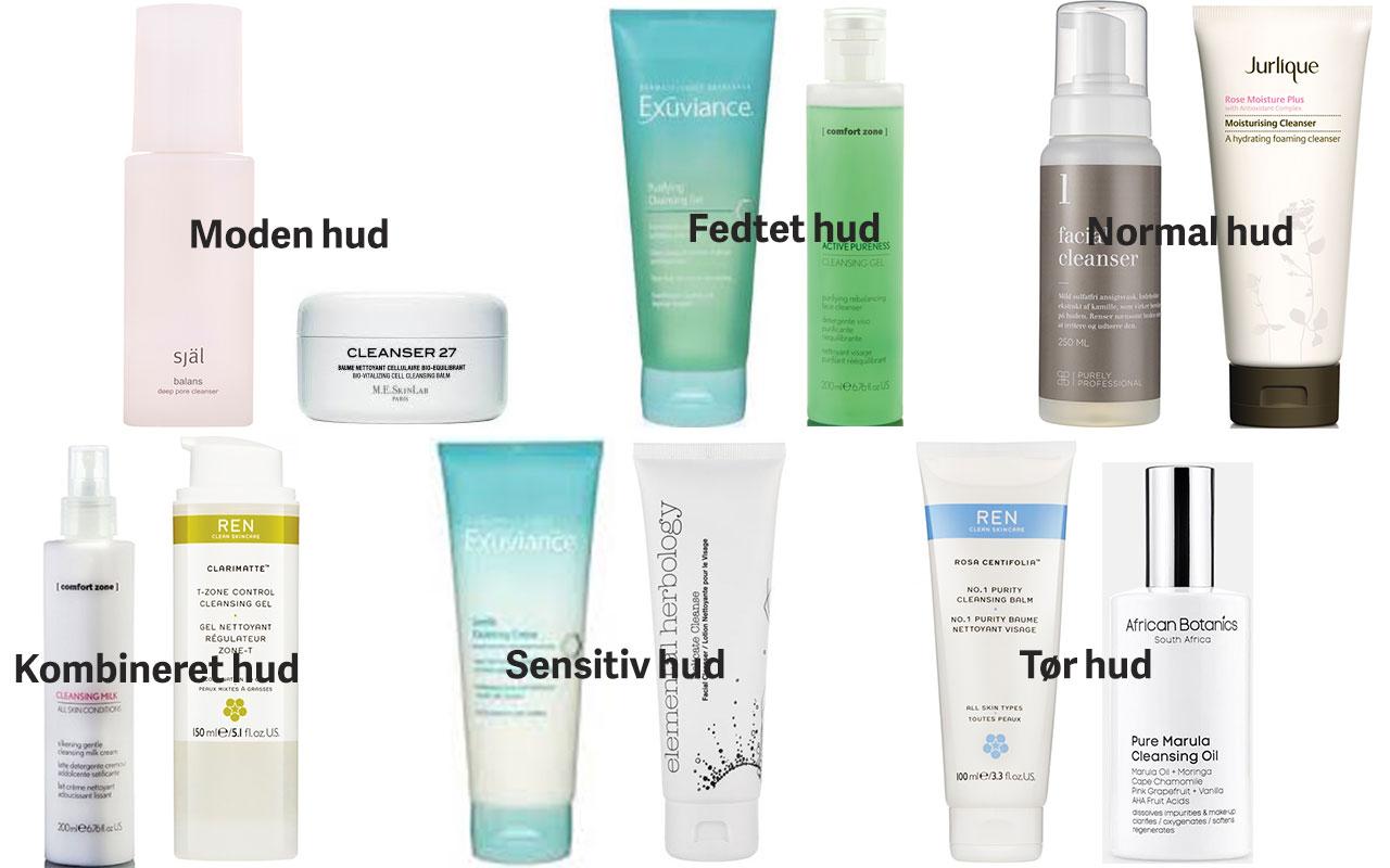produkter for uren hud