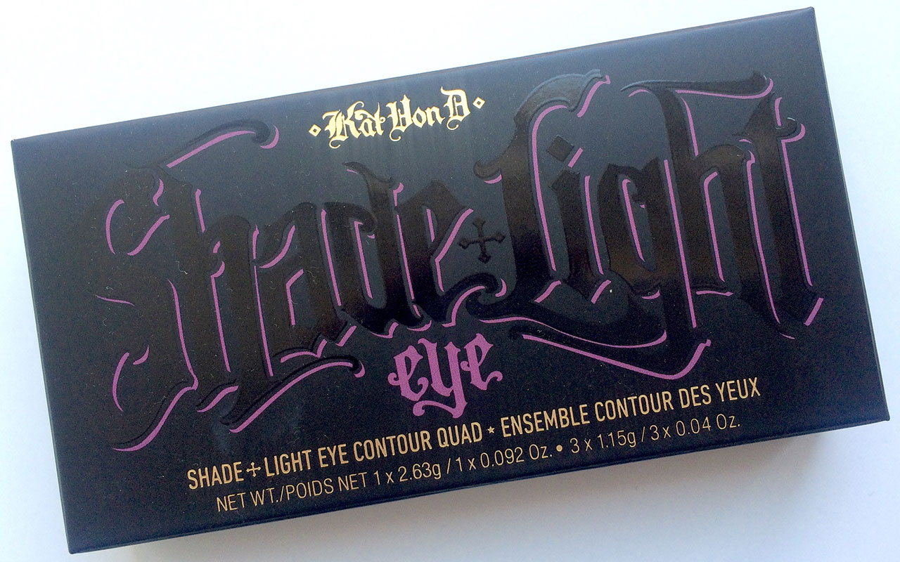 Anmeldelse Kat Von D Shade Light Eye Contour Quad Plum